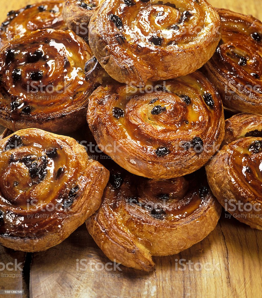 Danish pastry stock photo