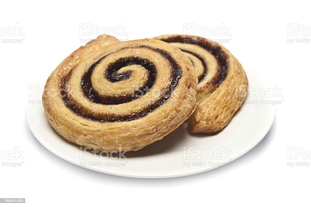 Danish Pastry royalty-free stock photo