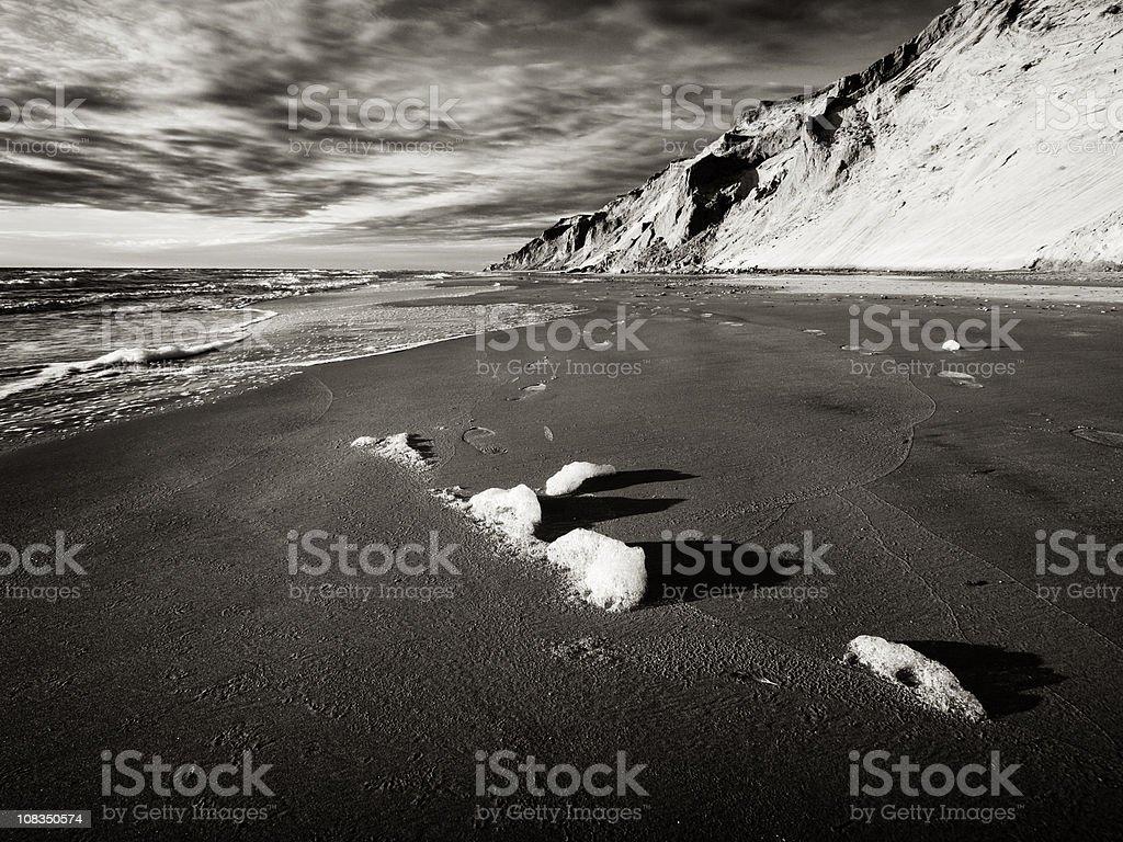 Danish west coast stock photo
