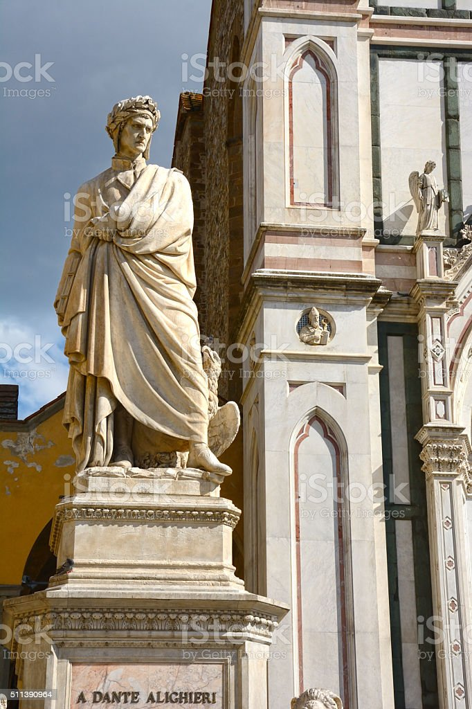 Dante Alighieri stock photo