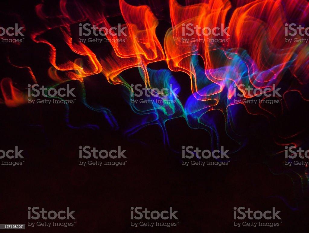 Dante Series: Burning Template royalty-free stock photo