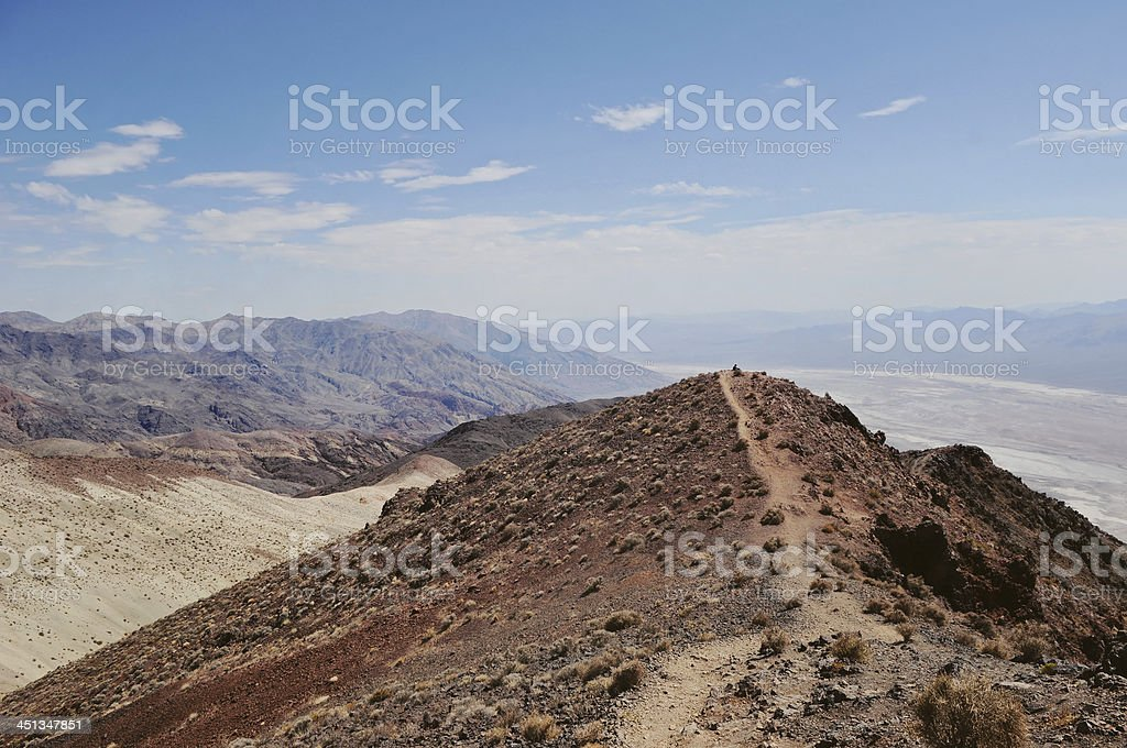 Dantes View at Death Valley royalty-free stock photo