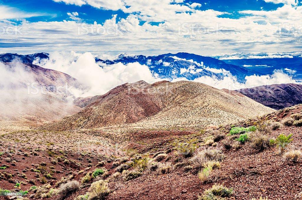 Dante's View, Death Valley, USA stock photo