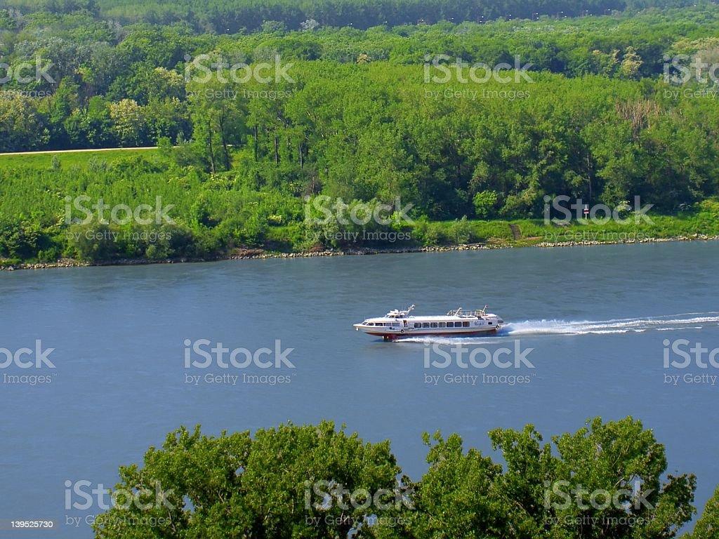 Danube Bratislava royalty-free stock photo