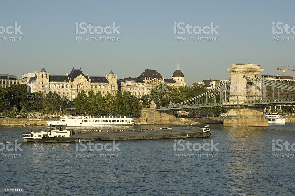 Danube royalty-free stock photo