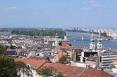 Danube with the Margit Bridge
