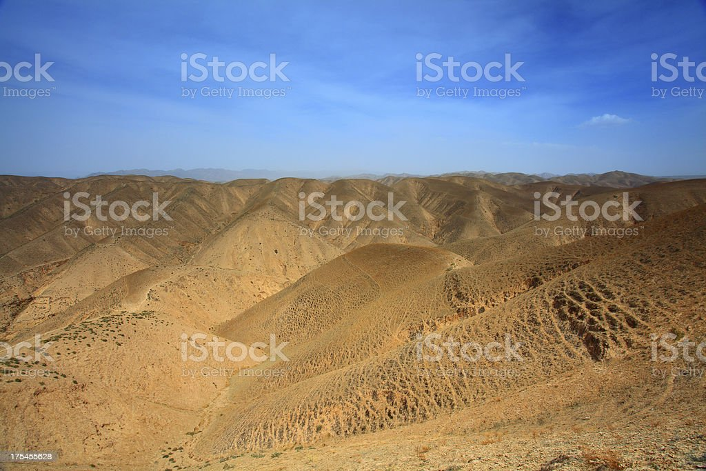 Danxia landform stock photo