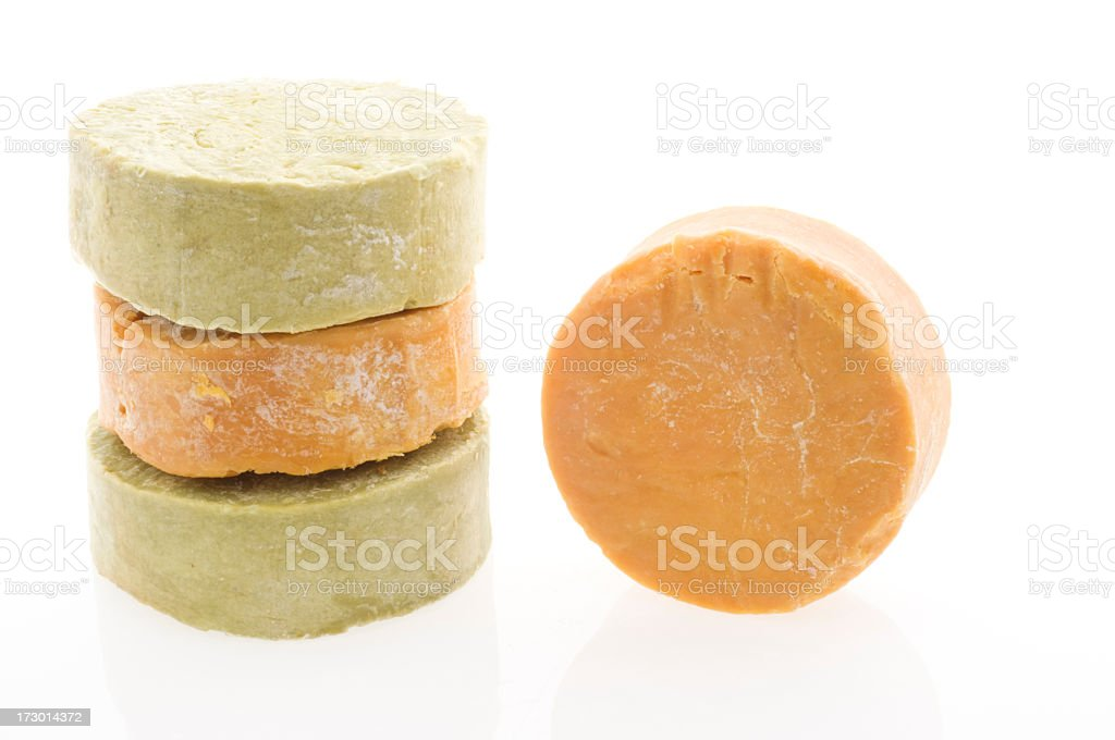 Daphne and Olive Soaps stock photo