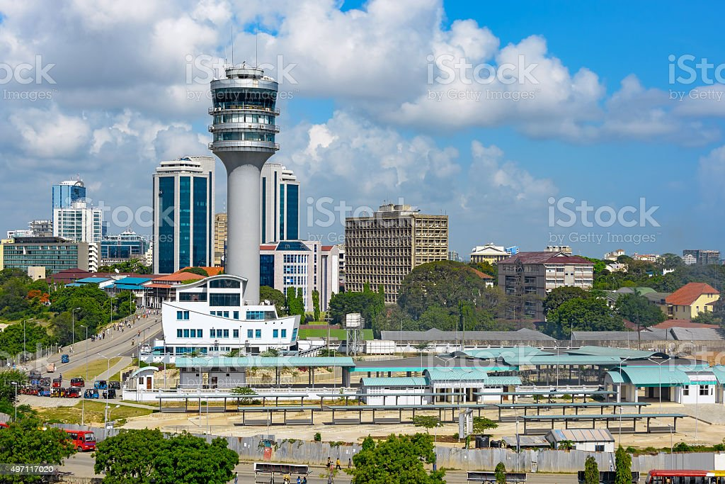 Dar Es Salaam City Centre stock photo