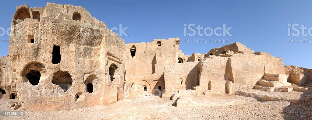 Dara Ruins, Mardin, Turkey stock photo