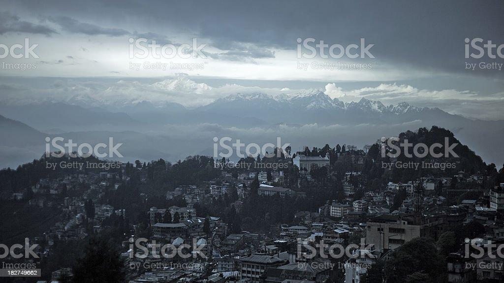 Darjeeling, India stock photo