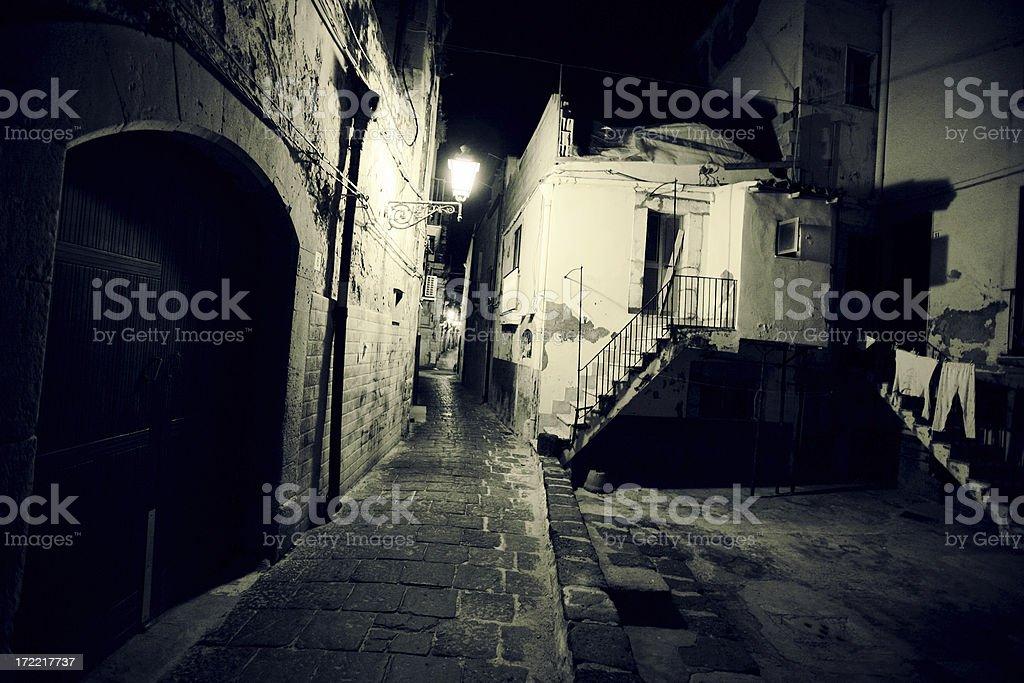 dark alleys royalty-free stock photo