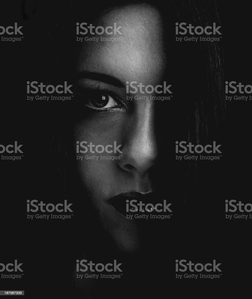 Dark and mysterious stock photo