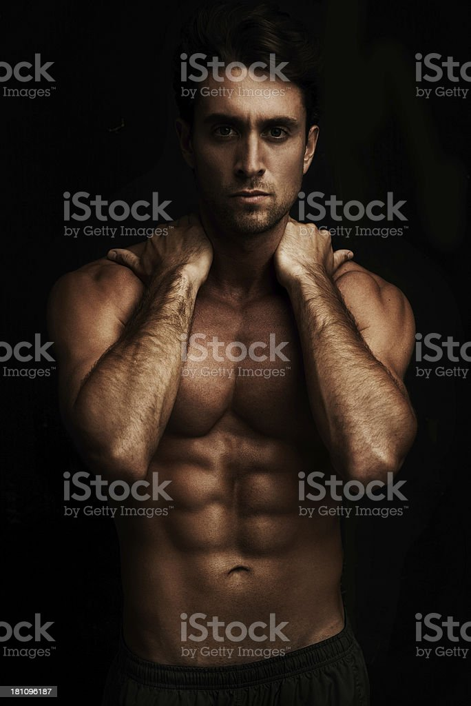 Dark and sexy! royalty-free stock photo