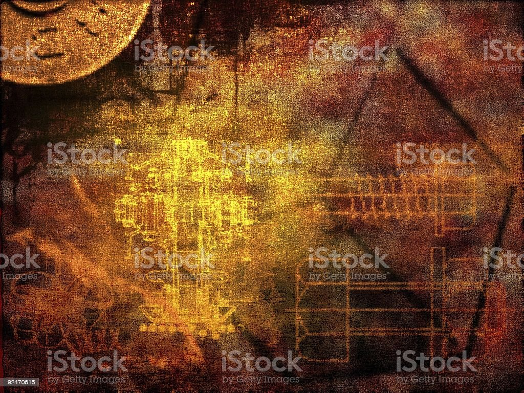 Dark background - abstract illustration royalty-free stock photo