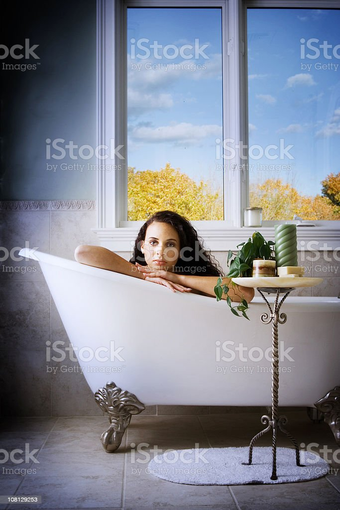 Dark beauty royalty-free stock photo