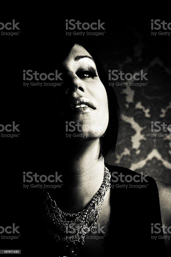 Dark Beauty stock photo