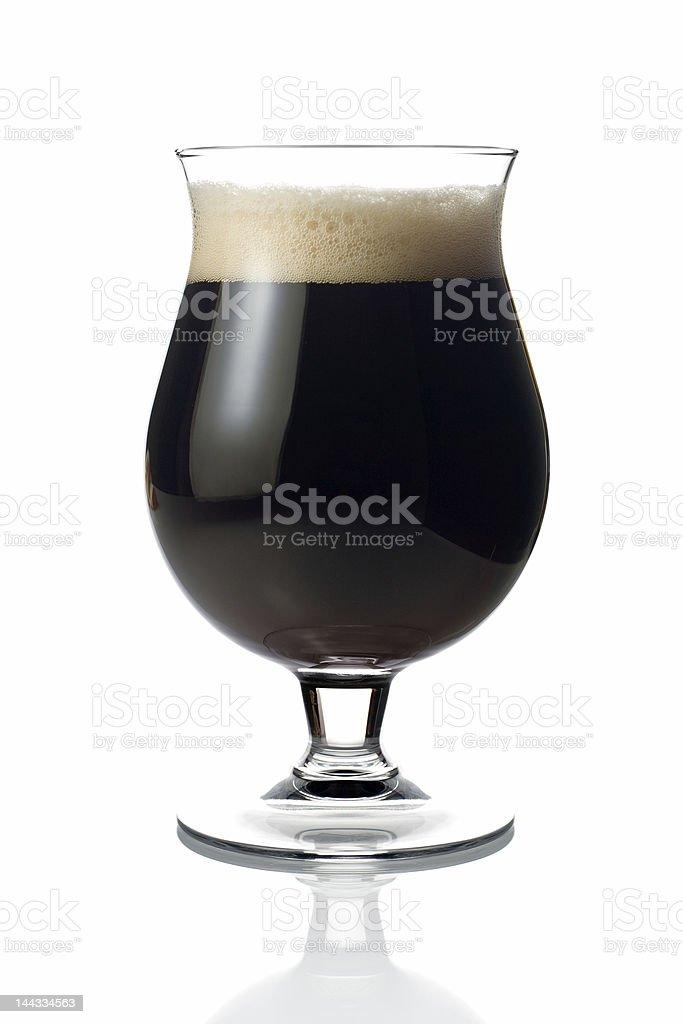 Dark beer royalty-free stock photo