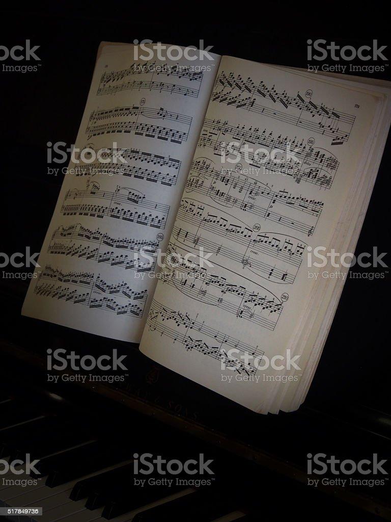 Dark Beethoven stock photo