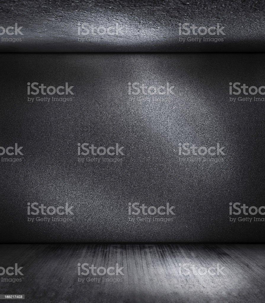 dark black room stock photo
