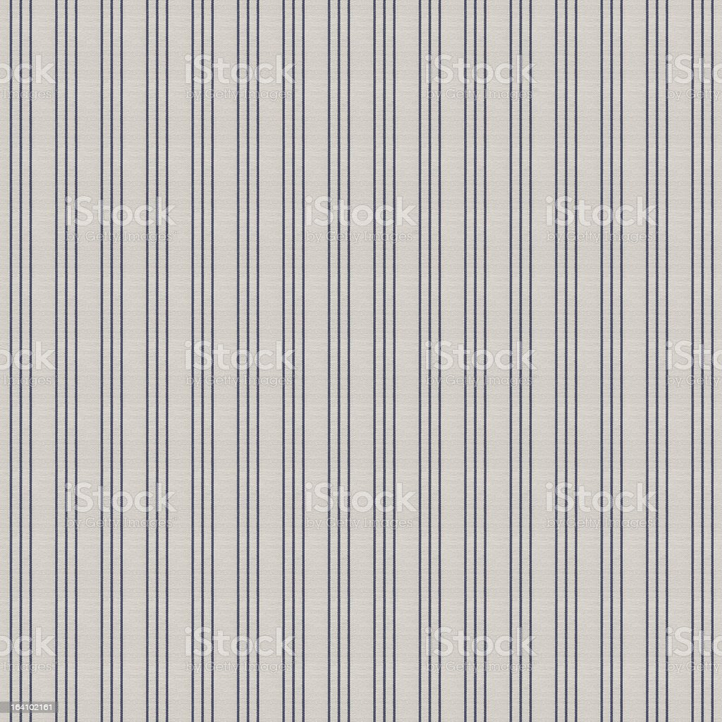 Dark Blue and White Stripped Tablecloth Pattern royalty-free stock photo