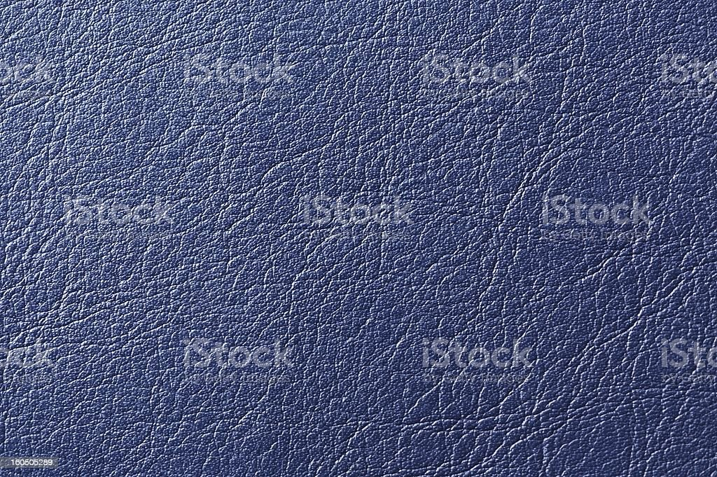 Dark Blue Artificial Leather Background Texture royalty-free stock photo