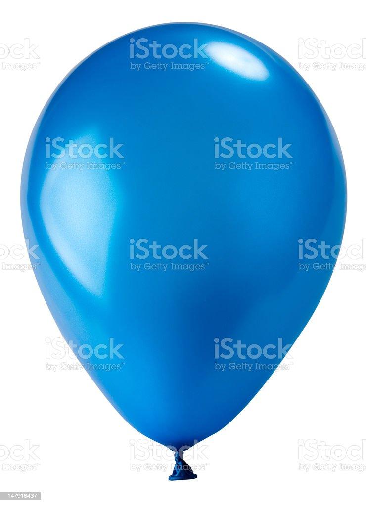 dark blue balloon stock photo