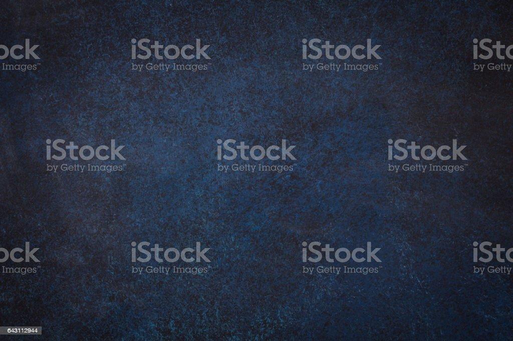Dark blue black slate background stock photo