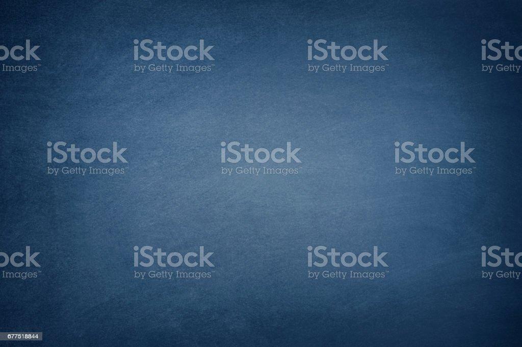 Dark Blue Blackboard stock photo