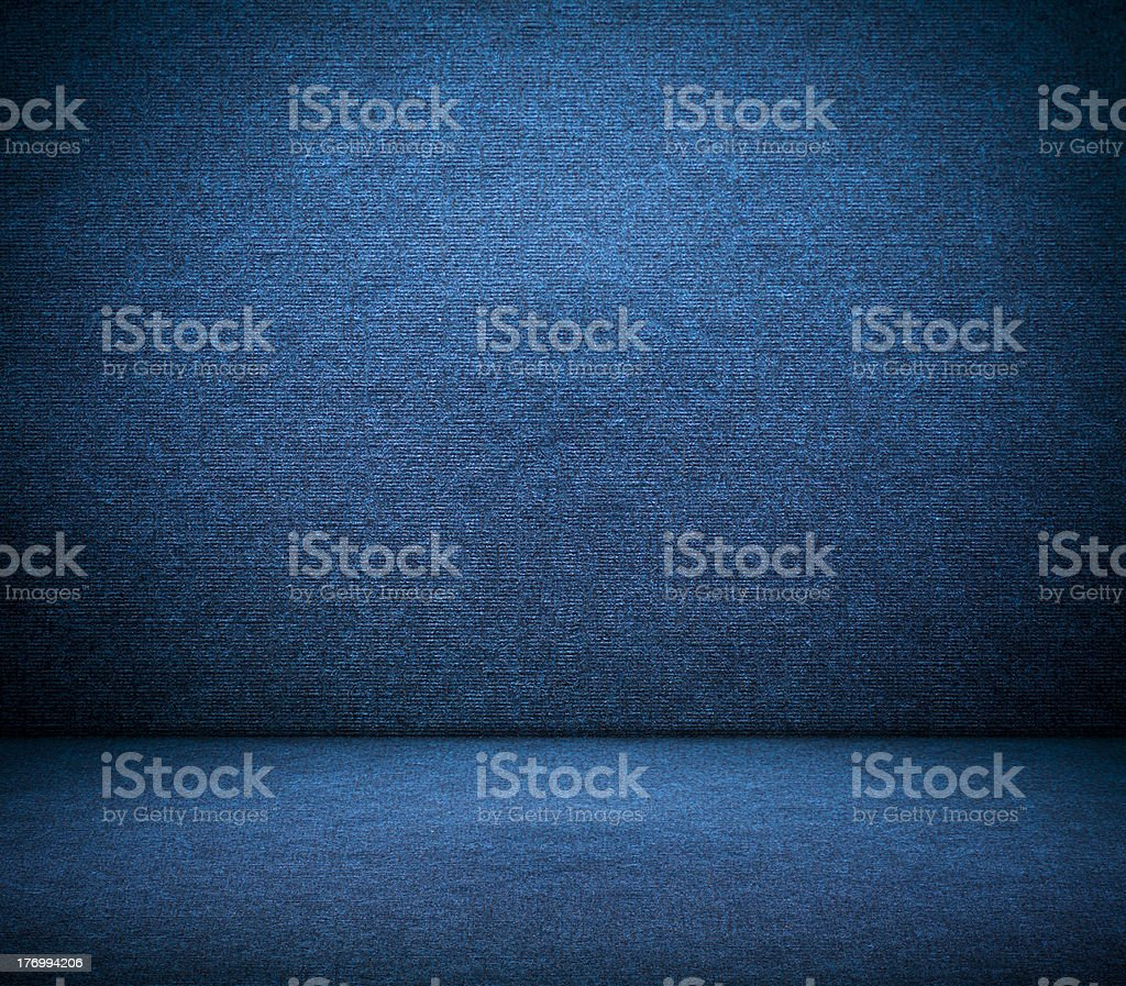 Dark Blue Canvas Texture royalty-free stock photo