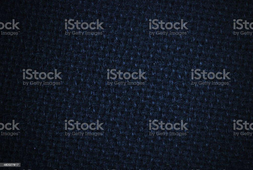 Tejido azul oscuro foto de stock libre de derechos