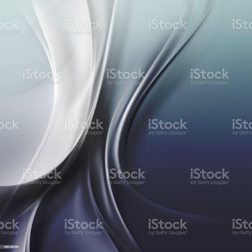 Dark Blue Wave Background stock photo