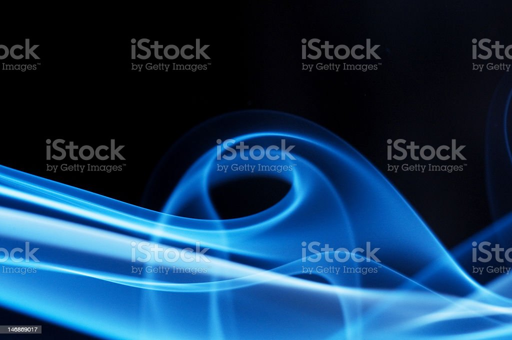 Dark blue Waves royalty-free stock photo