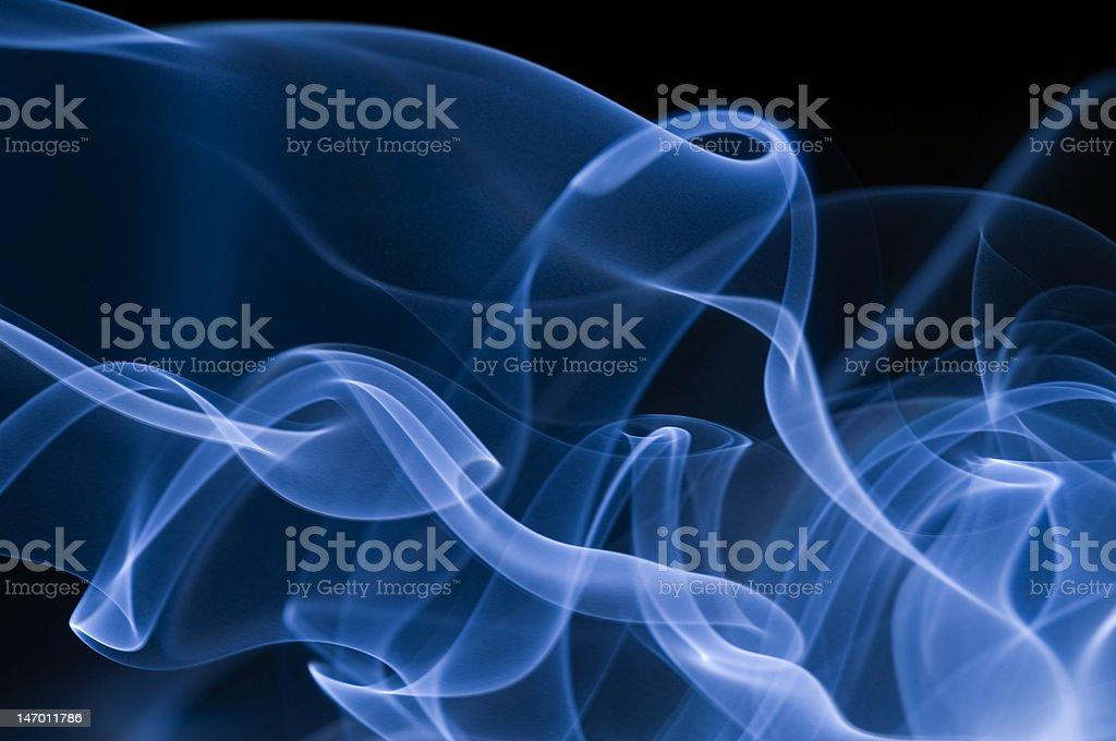 Dark blue Waves royalty-free stock photo