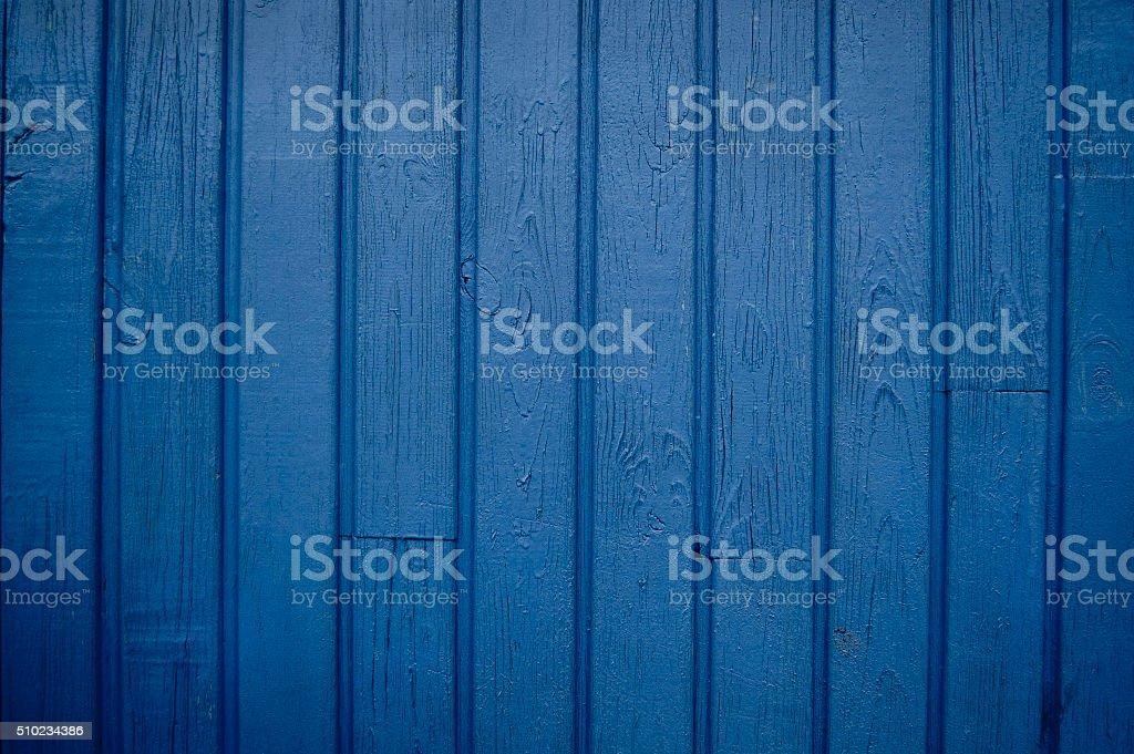 Dark blue wooden planks stock photo