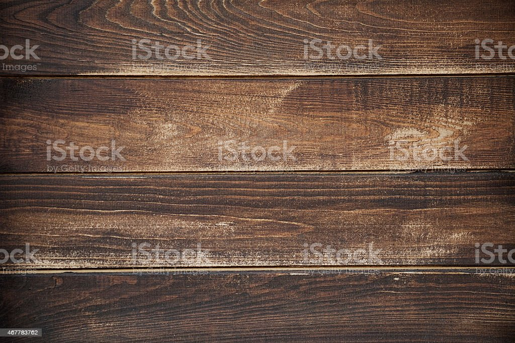 Dark brown board texture stock photo