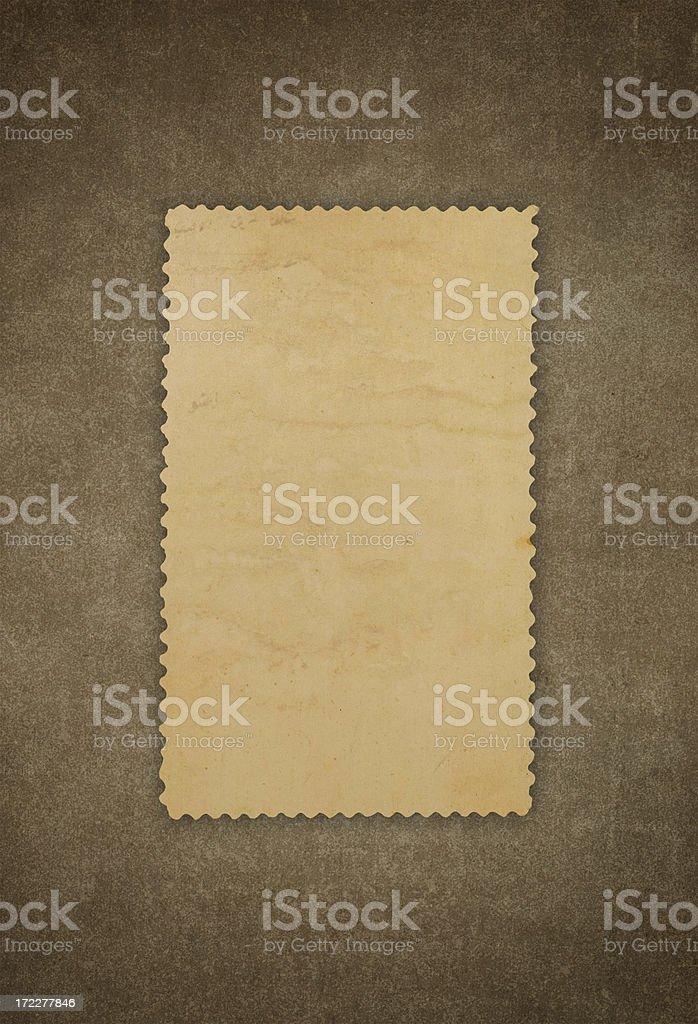 Dark Brown Frame (XXL) royalty-free stock photo