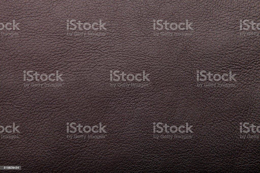 dark brown leather background, grungy texture design stock photo