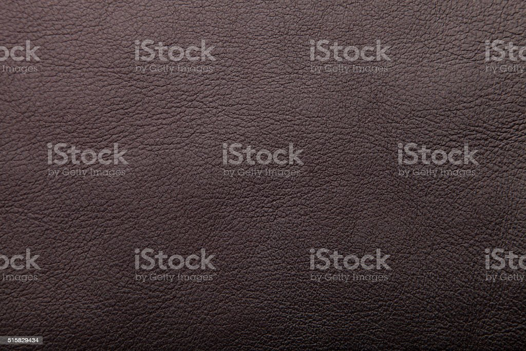 dark brown leather background, grungy texture design stock photo