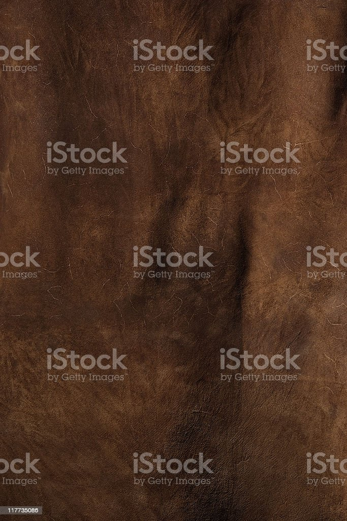 Dark brown leather texture background royalty-free stock photo