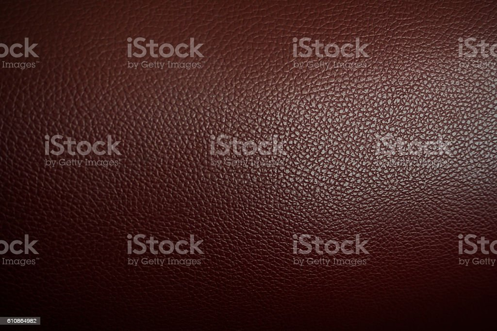 dark brown leather with gradient light  for background design. stock photo