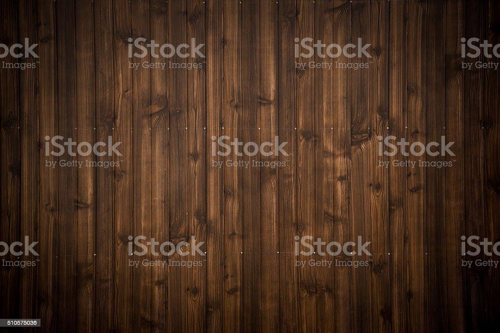 dark brown wood plank texture background stock photo