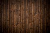dark brown wood plank texture background