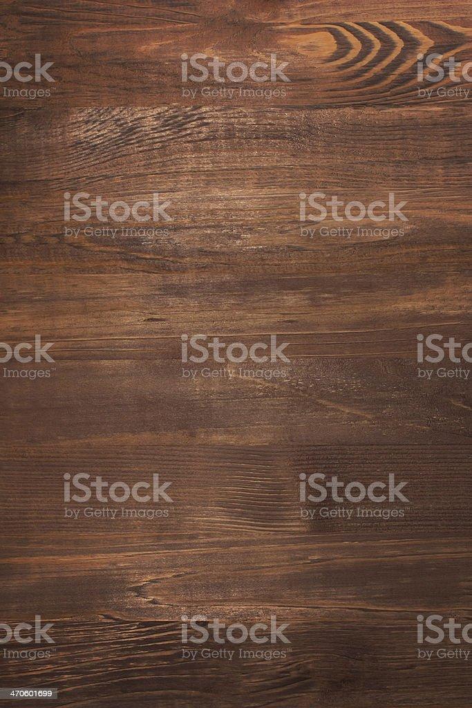 Dark brown wooden texture or background stock photo