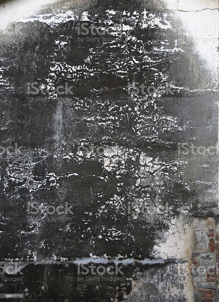 dark burnt wall royalty-free stock photo
