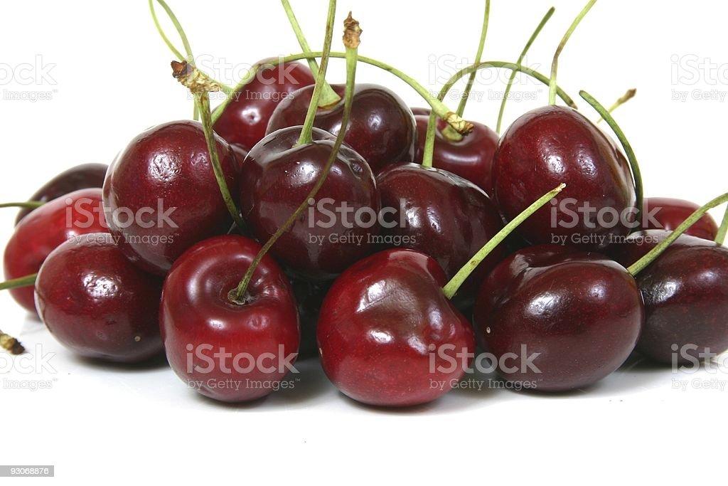 Dark Cherries stock photo