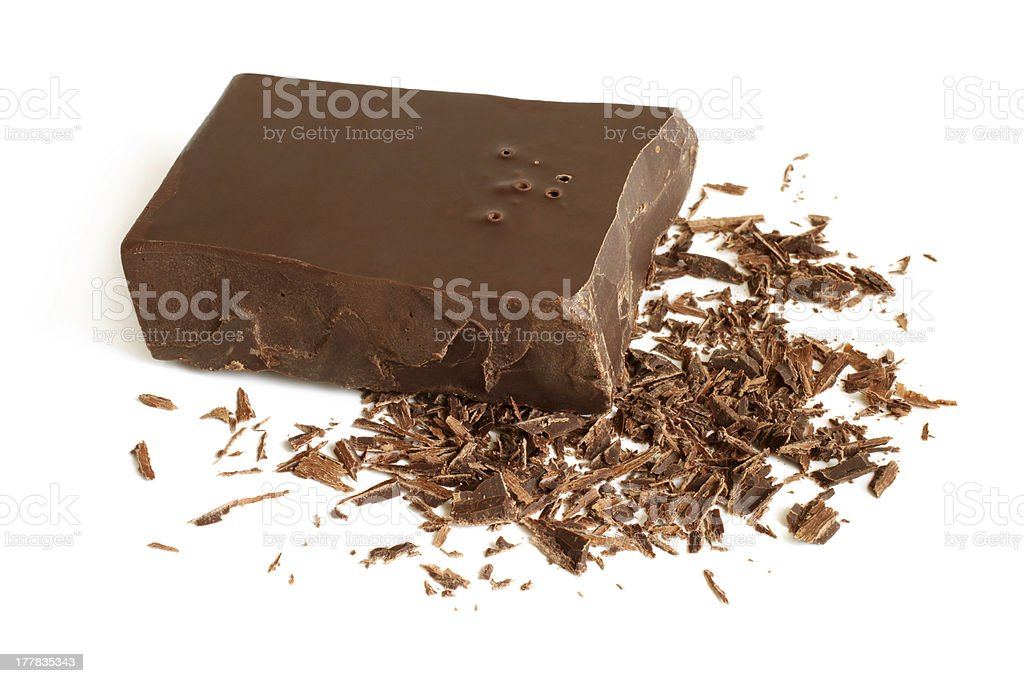 Dark chocolate royalty-free stock photo