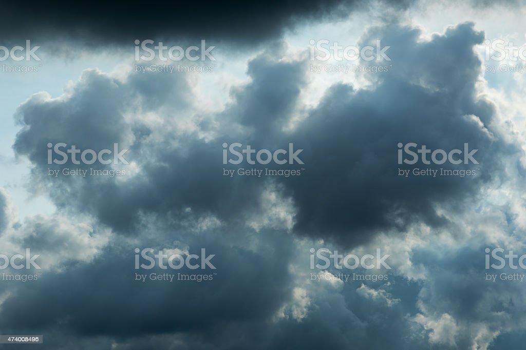Dark Cloud stock photo