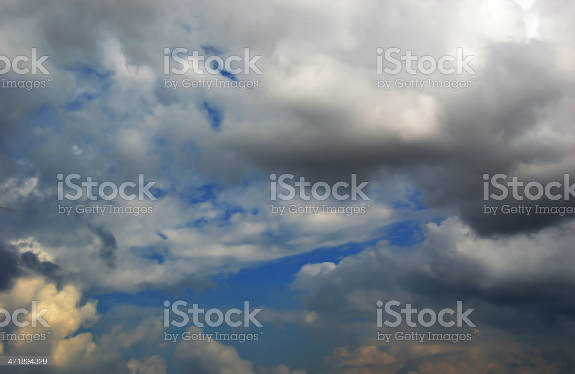 Dark Clouds royalty-free stock photo