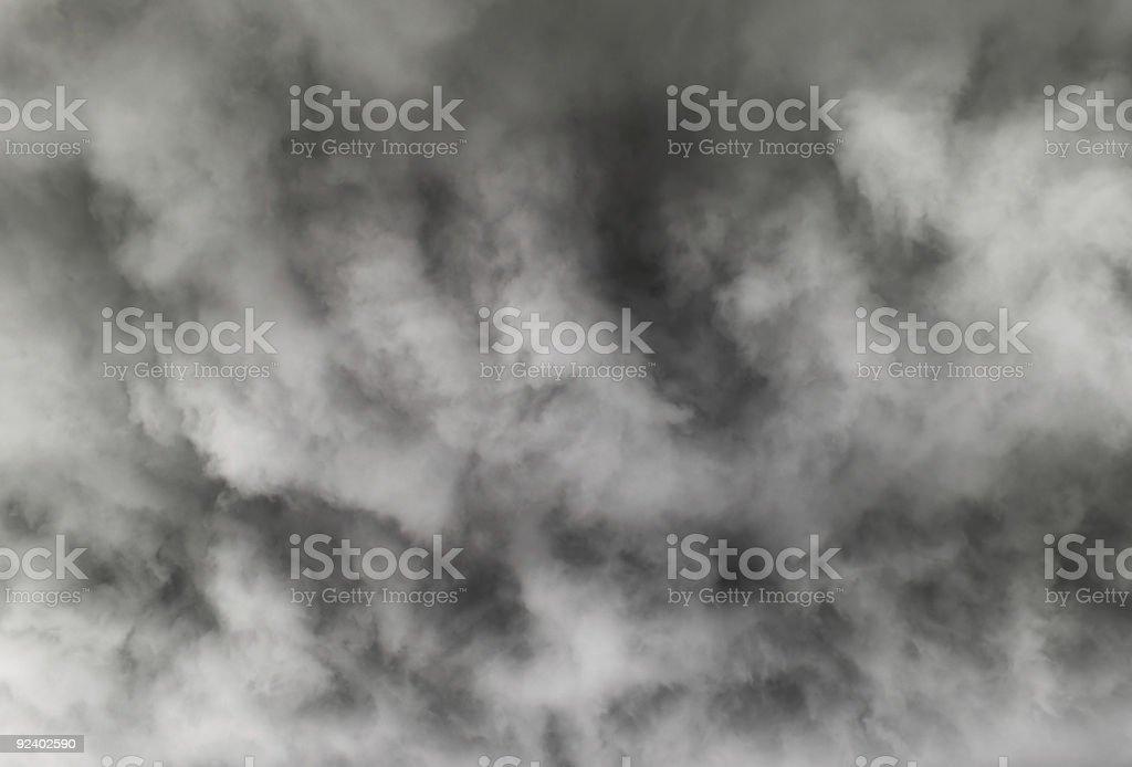 Dark clouds royalty-free stock photo